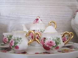 My little tea set