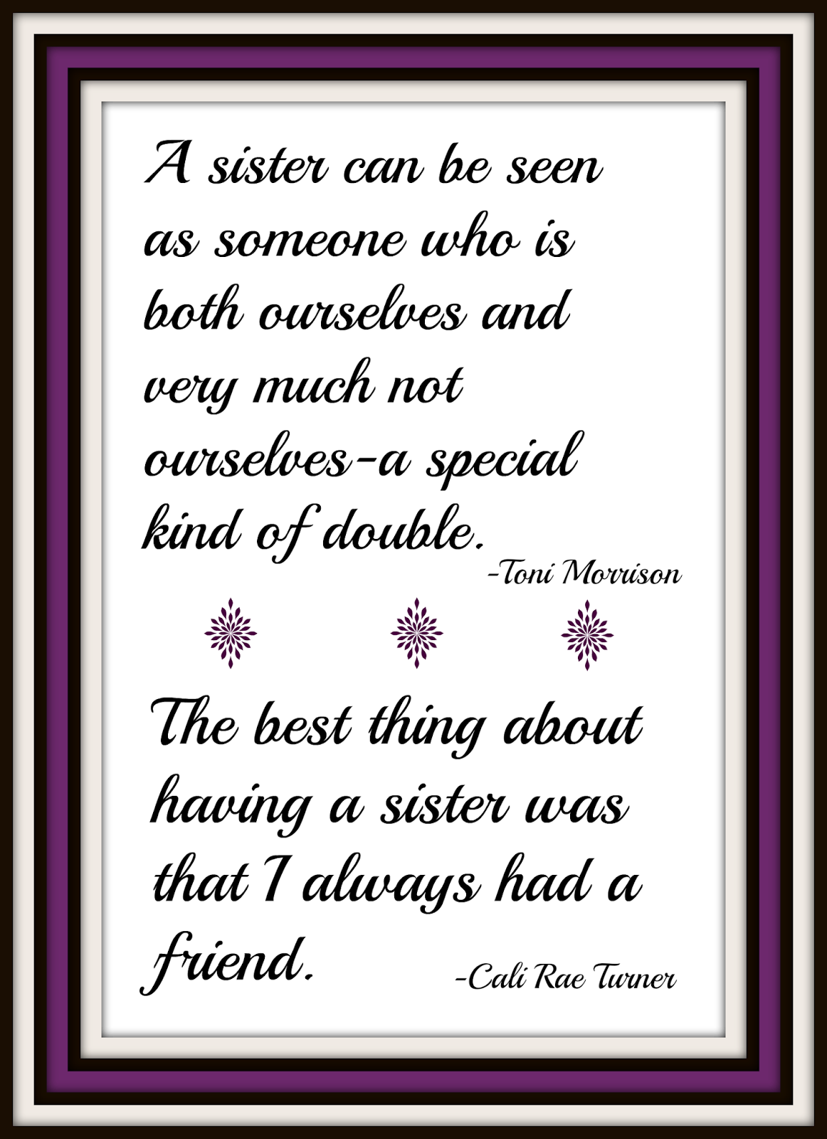 I Love My Twin Sister Quotes Normal Everyday Life February 2015