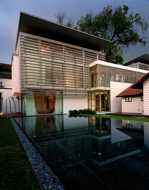 Luxury Glass Design House Exclusive Residence