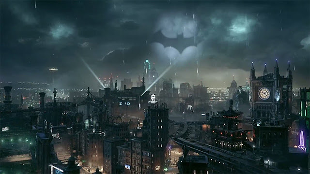 gotham city batman arkham knight