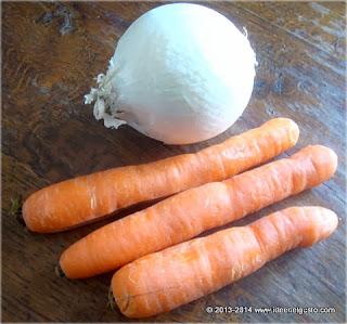 Carote e cipolle