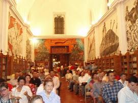 2). BIBILIOTECA PÚBLICA de JIQUILPAN, con los murales del jaliciense José Clemente Orozco.