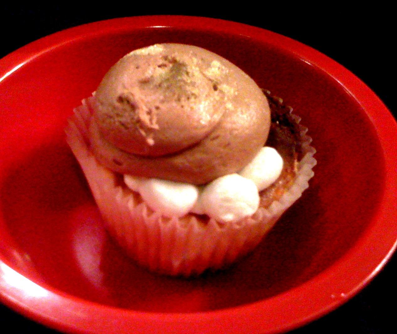 Cocoa Bean Cupcakes