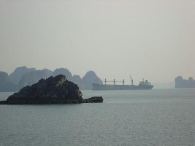Barco Bahía de Halong