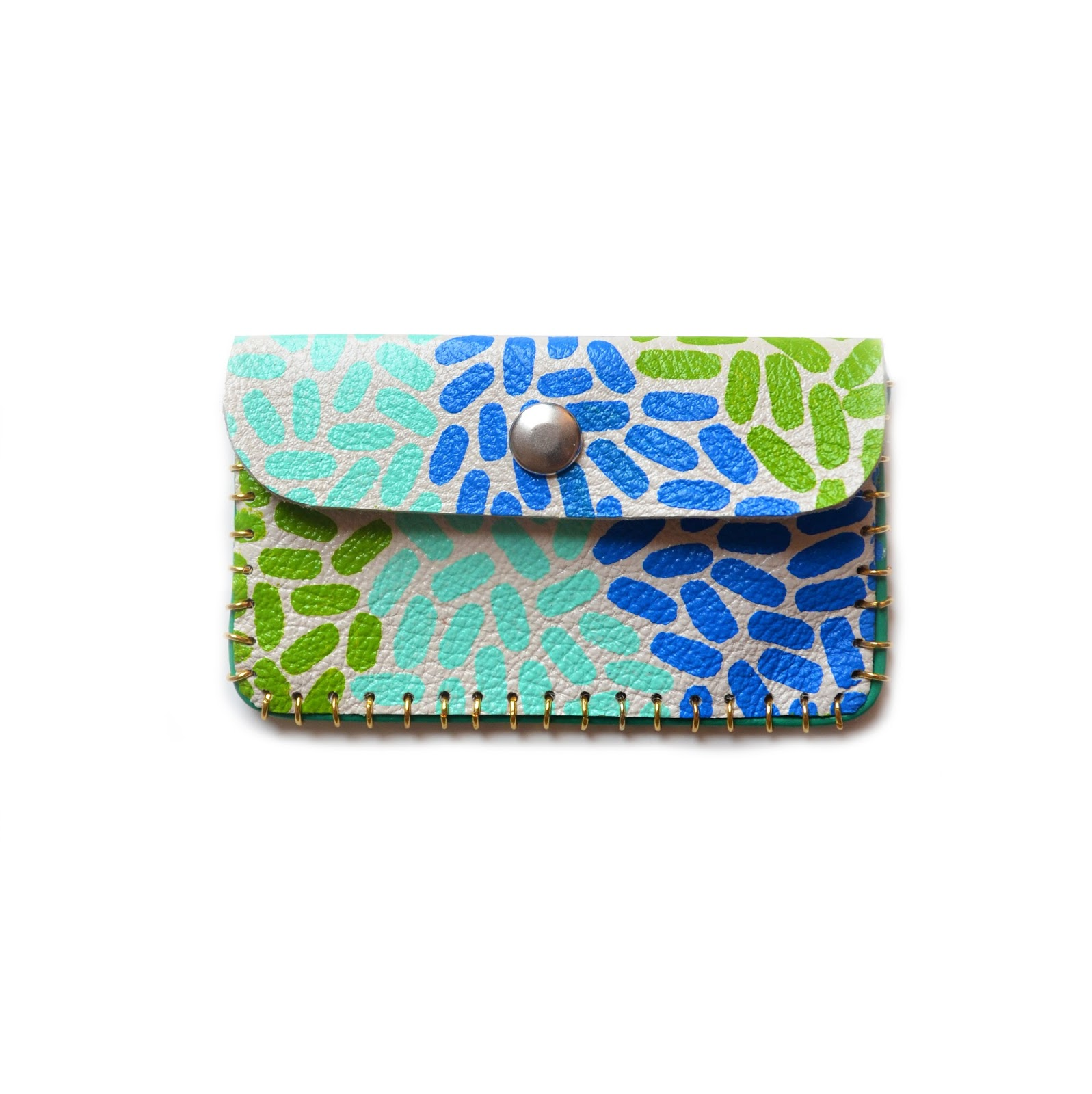 Boo and Boo Factory: New Hand Painted Leather Wallets, Small ...