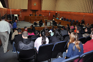 The 10th District Court of Appeals heard cases at Sam Houston State University.