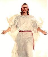 Imagem de Jesus de braços abertos
