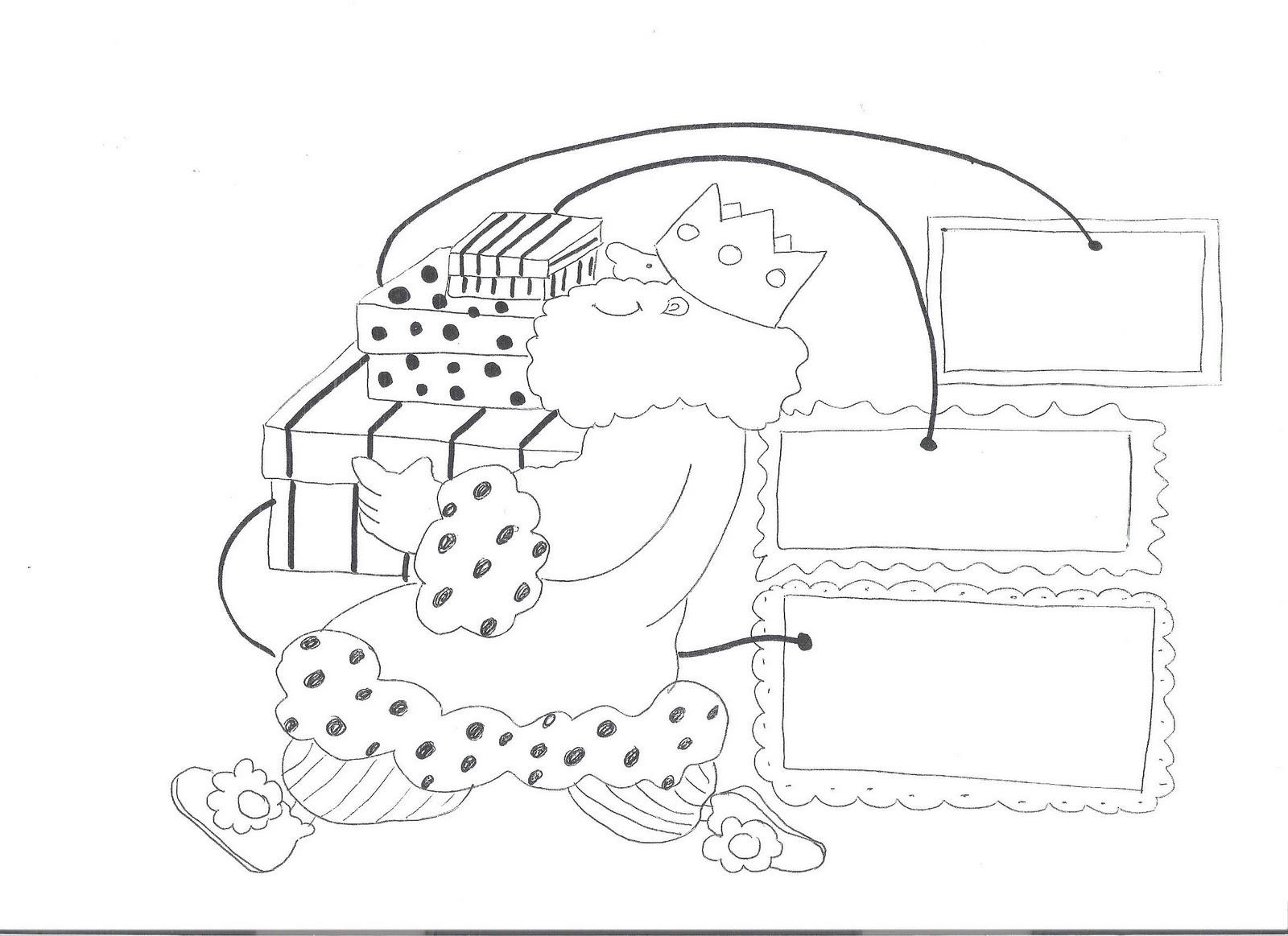 atividades e desenhos para colorir sobre o dia de reis