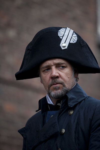 les miserables movie, russell crowe