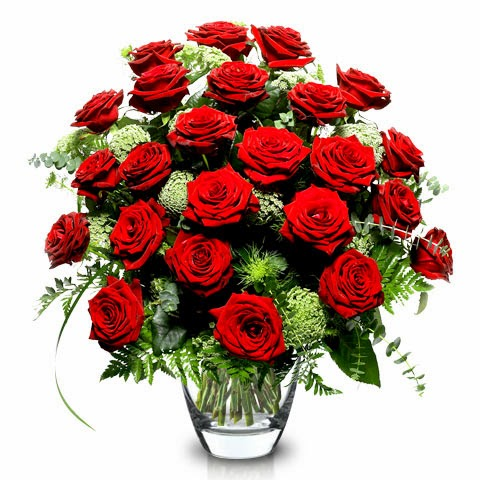 True Love 24 red roses delivery in Romania