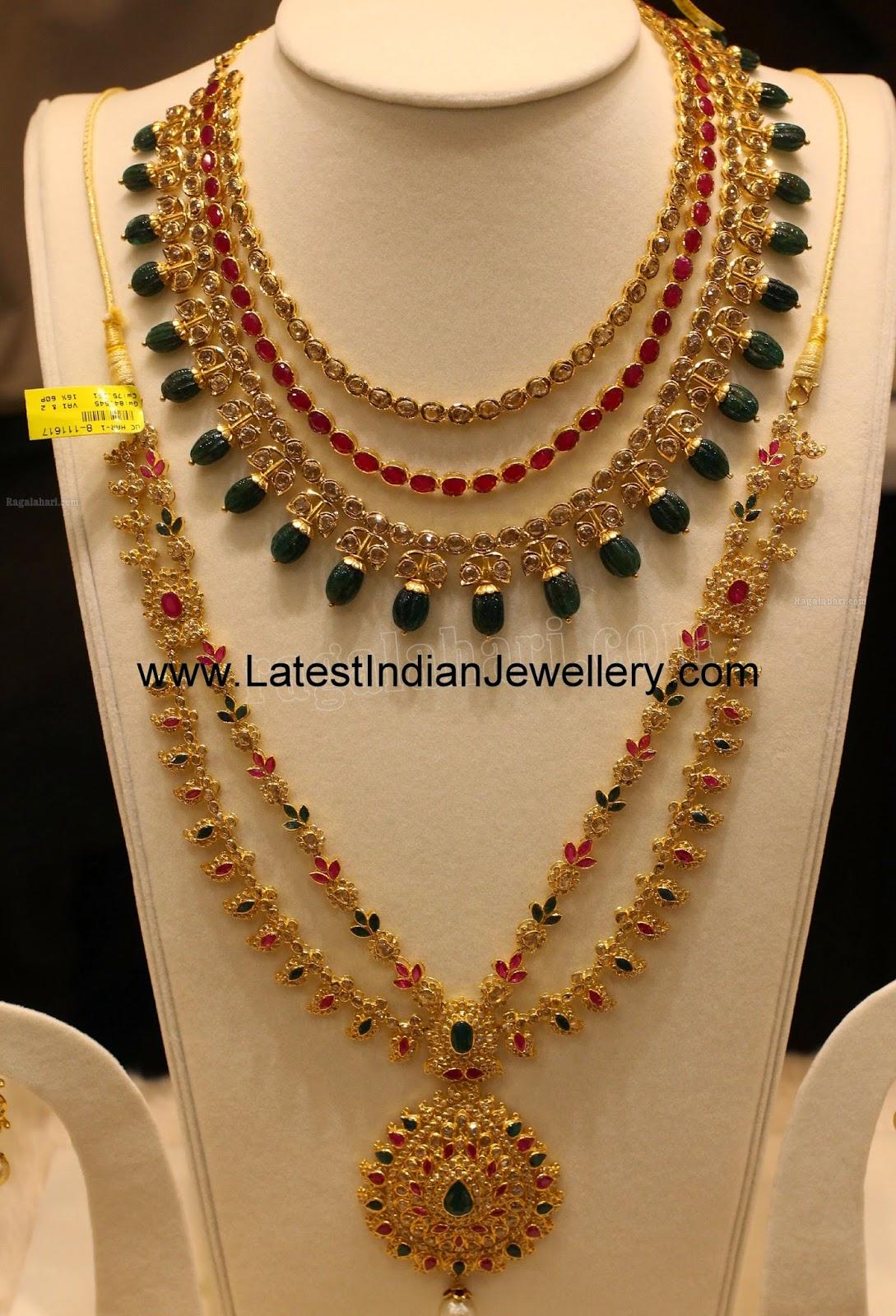 Manepally Designer Uncut Diamond Collection