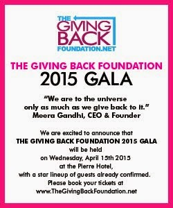 The Giving Back Foundation 2015 Gala