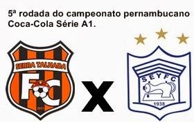 Próximo jogo Dom.22\12\2013 às 16:00hrs no estádio Pereirão em Serra Talhada