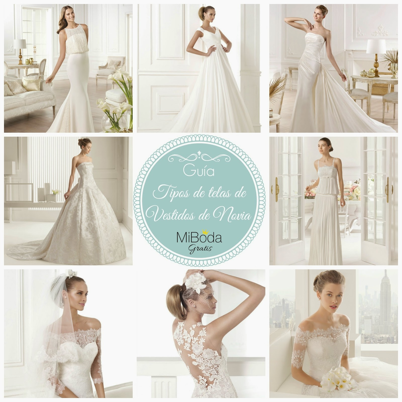 Guía Tipos de Telas de Vestidos de Novia (I) | BLOG Mi Boda | Bloglovin\'