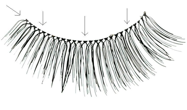 Thursday Tip: A way to make false eyelashes look more ...