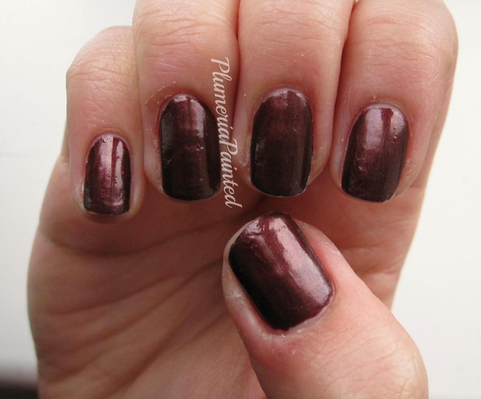 PlumeriaPainted: Brown Nails: w7 - Brownie