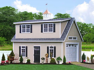Sheds unlimited llc prefab garage packages from sheds for 2 story garage packages