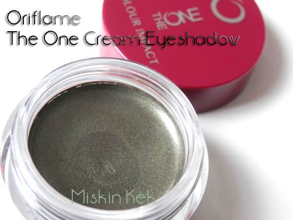 oriflame_one_cream_eyeshadow_olive_green_krem_far_kullananlar