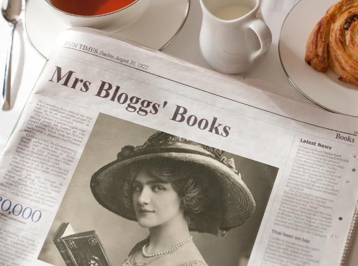 Mrs Bloggs: The Average Reader