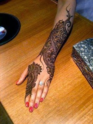 Mehndi designs bridal full hand