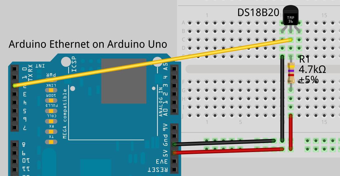 Schnipsel temperatur mit arduino und ds b auf pachube