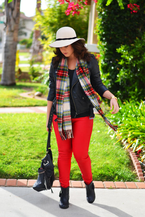 Red And Green Plaid Scarf Plaid Scarf Forever 21 Red