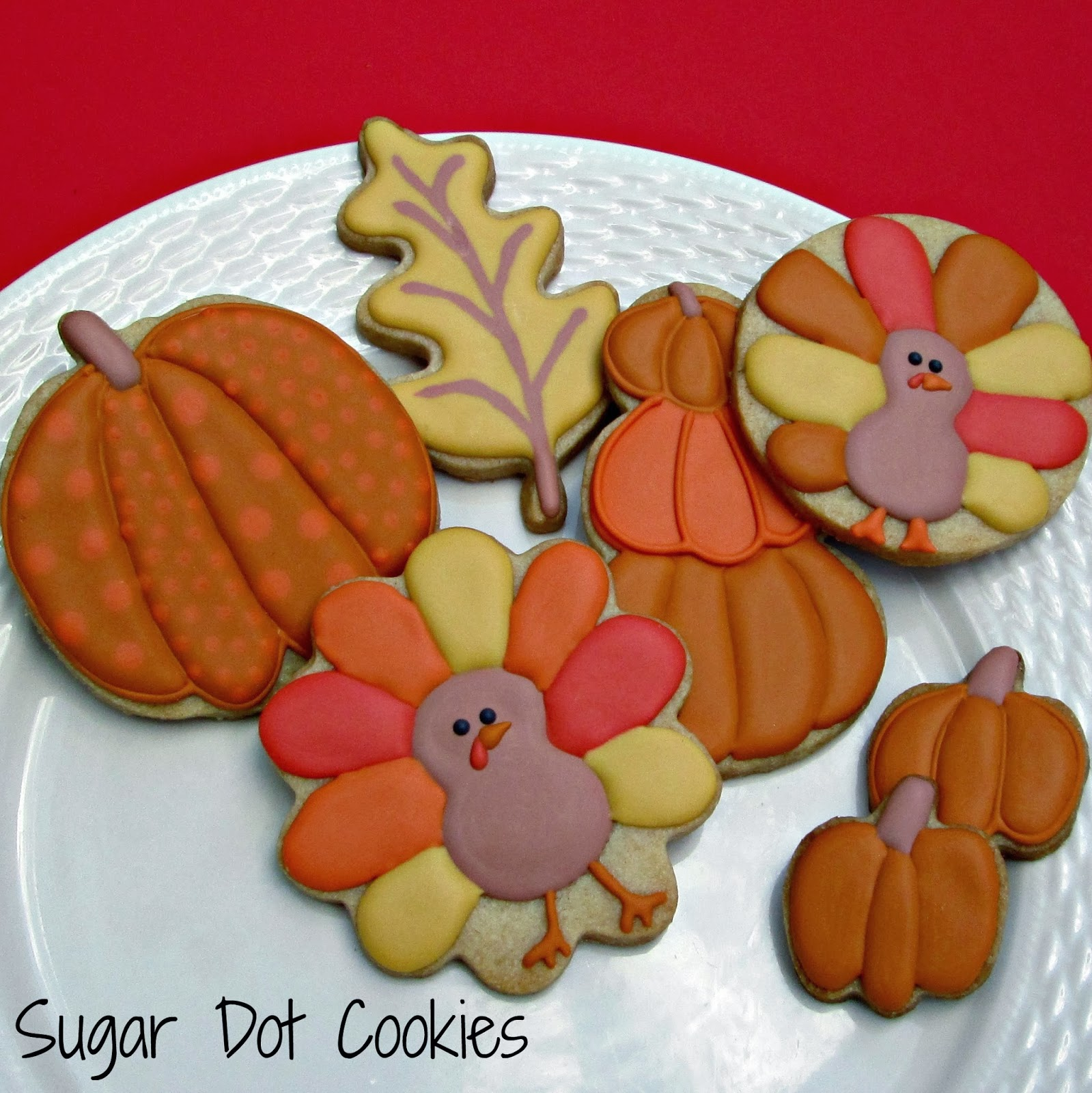 Sugar Dot Cookies: Fall Cookie Decorating Class
