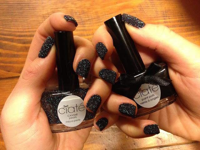 Manicure caviale ciat caviar manicure black pearls - Diva nails prodotti ...