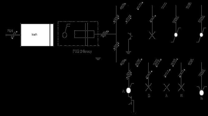 Ilmu elektro instalasi listrik gambar diagram pelaksanaan ccuart Images