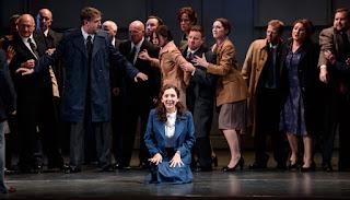 Rosa Feola and ensemble - Bellini I Puritani - Welsh National Opera - photo Bill Cooper