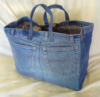 ecobag reciclagem de jeans