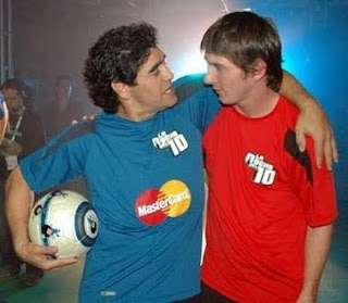 Messi Y Maradona Jugaran Partidos