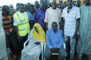 marriage at IDP camp