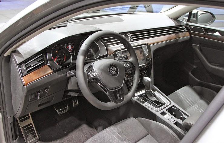 новый Passat от VW