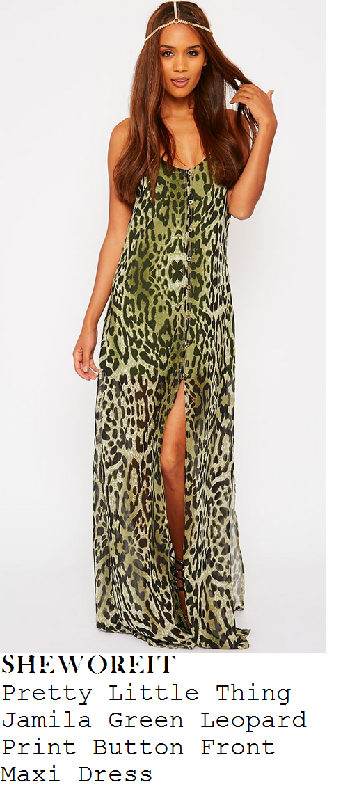 chloe-sims-green-leopard-split-sleeveless-maxi-dress-towie-marbs