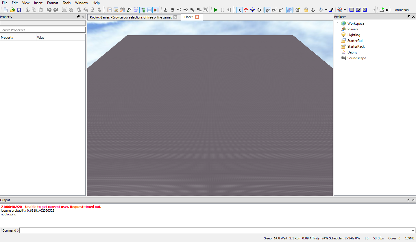 Sparker22s roblox blog how to cframe in roblox studio 2013 now you will see on the top bar of your tools something that looks like 2 squares going into each other like this baditri Gallery