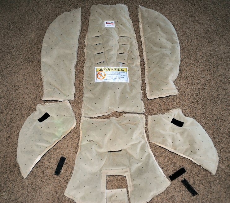 Instructions on how to recover a car seat & Infant/Toddler Car Seat Cover Tutorial: How to Cover a Baby Car Seat