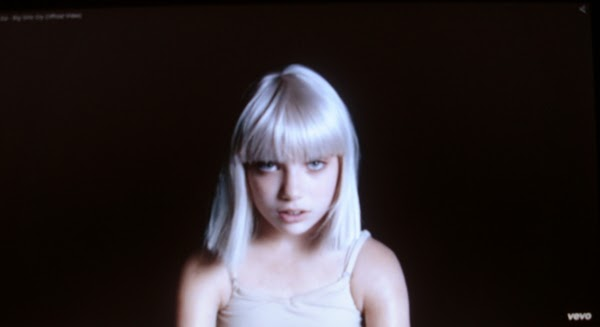"Maddie Ziegler in the video for ""Big Girls Cry"" by Sia"