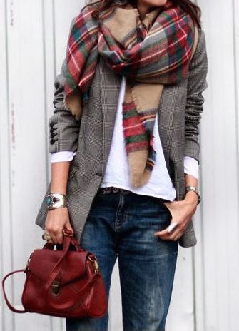 Brown Plaid High Top Shoes Dayfives