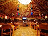 inside mangyt kyrgyz yurt restaurant tashkent