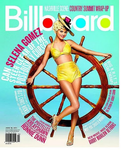 Selena Gomez Pin Up BillboardCover