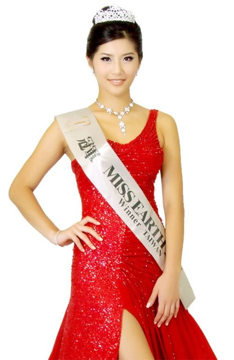 miss earth taiwan chinese taipei winner cherry liu