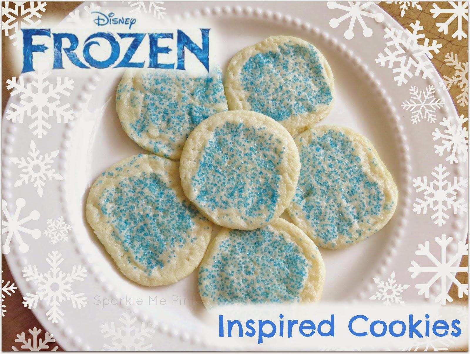 Disney Frozen Inspired Cookies A Simple Sweet Treat
