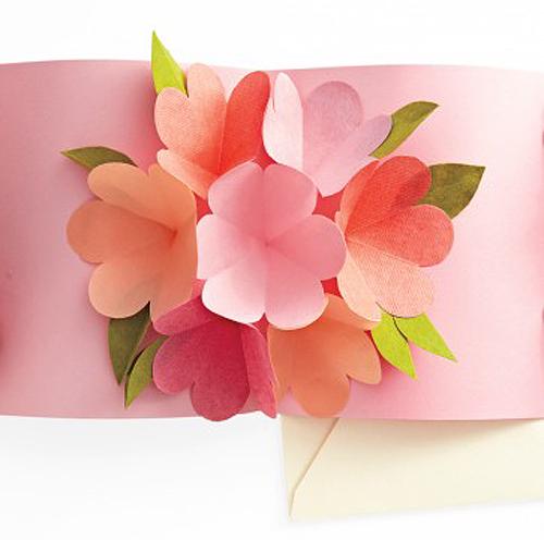 diy valentine day pop up card
