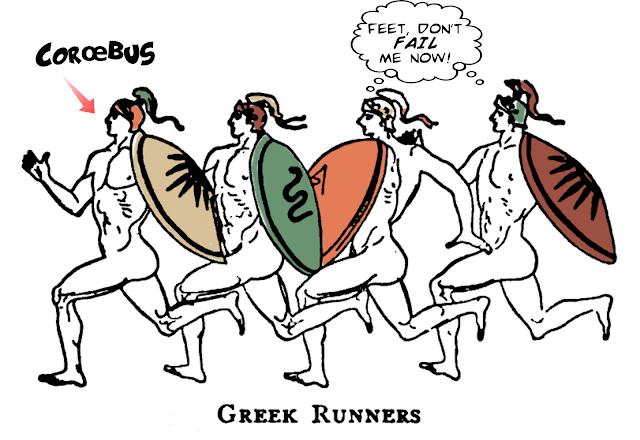 Ancient Greek Olympic Runners