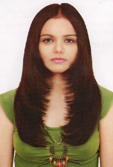 Feathers Shape Haircut For Women, In this cut, the hair is very short