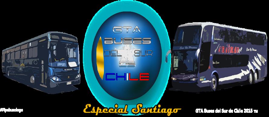 GTA Buses Del Sur De Chile 2015