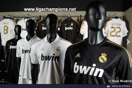 uniformes del barcelona y real madrid y otros 2011-2012