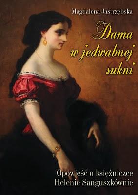 Dama w jedwabnej sukni