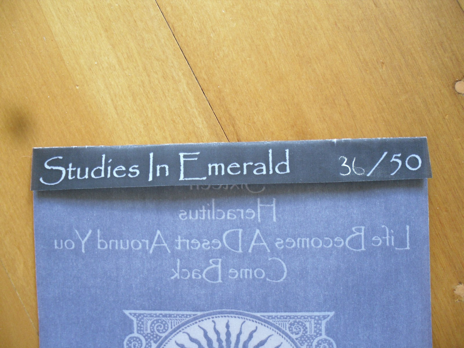 Rot In Hell - Studies In Emerald